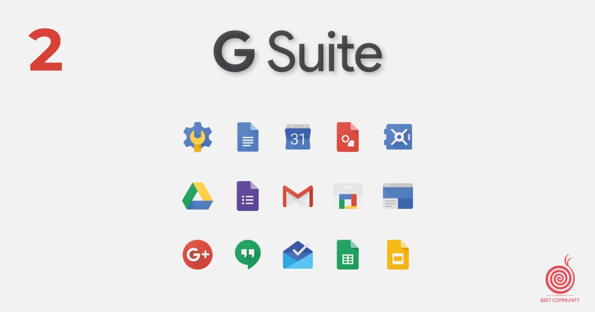 G-suite | Beetcommunity