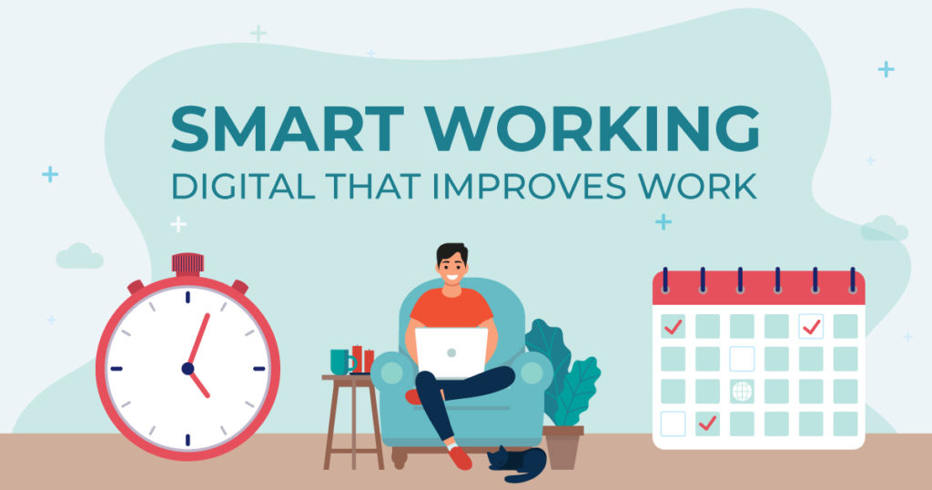 Smart working: the digital transformation that facilitates agile working